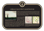Gibraltar Point Lighthouse (1) Commemorative Plaque, 2008
