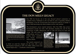 The Don Mills Legacy Plaque Commemorative Plaque, 2007