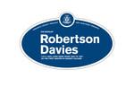 Robertson Davies Legacy Plaque, 2009