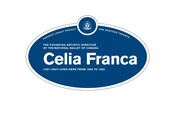Celia Franca Legacy Plaque, 2010