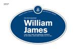 William James Legacy Plaque, 2010