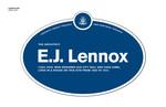 E. J. Lennox Legacy Plaque, 2010