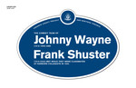 Johnny Wayne and Frank Shuster Legacy Plaque, 2010
