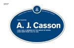 A. J. Casson Legacy Plaque, 2011