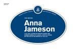 Anna Jameson Legacy Plaque, 2011