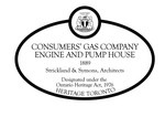 Consumers Gas Company Engine and Pump House Heritage Property Plaque, 2011