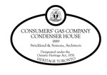 Consumers Gas Company Condenser House Heritage Property Plaque, 2011