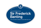 Sir Frederick Banting Legacy Plaque, 2012