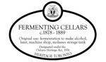 Fermenting Cellars Heritage Property Plaque, 2012
