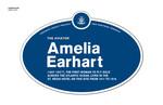 Amelia Earhart Legacy Plaque, 2013
