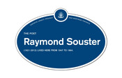 Raymond Souster Legacy Plaque, 2014