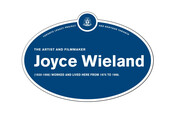 Joyce Wieland Legacy Plaque, 2014