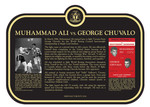 Muhammad Ali vs. George Chuvalo Commemorative Plaque, 2016