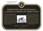North-West Mounted Police La Police à cheval du Nord-Ouest Commemorative Plaque, 2016