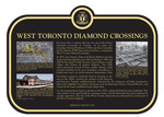 West Toronto Railway Diamonds Commemorative Plaque, 2016