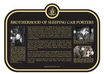 Brotherhood of Sleeping Car Porters Commemorative Plaque, 2017