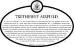 Trethewey Airfield Commemorative Plaque, 2017