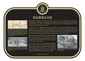 Fairbank  Commemorative Plaque, 2017