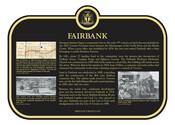 Fairbank  Commemorative Plaque, 2017