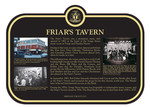 Friars Tavern Commemorative Plaque, 2017