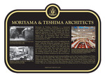 Moriyama and Teshima Architects Commemorative Plaque, 2017