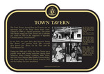 Town Tavern Commemorative Plaque, 2017