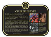 Club Bluenote Commemorative Plaque, 2017