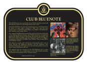 Club Bluenote Commemorative Plaque, 2017