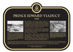 Prince Edward Viaduct Heritage Property Plaque, 2018