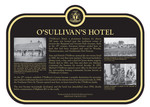 OSullivans Hotel Commemorative Plaque, 2017