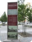 Davenport Road - Ancient Trail Commemorative Plaque, 2011