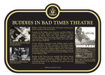 Buddies in Bad Times Theatre Commemorative Plaque, 2018