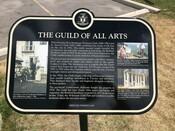 Guild of All Arts Commemorative Plaque, 2017.