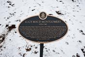 Lucy Maud Montgomery Commemorative Plaque, 2019.