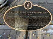 Grand Duchess Olga Commemorative Plaque, 2020.