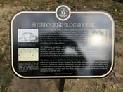 Sherbourne Blockhouse Commemorative Plaque, 2016.