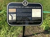 Shipwrecks at Gibraltar Point Commemorative Plaque, 2019.
