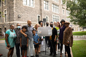 Beverly Mascoll plaque unveiling, July 9, 2021.