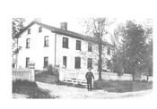 Montgomery's Inn, Etobicoke, 1910. Montgomerys Inn Museum.