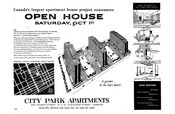 City Park Apartments newspaper advertisement, September 28, 1955.
