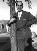 Architect Peter Caspari, circa 1950.
