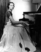 Pianist-conductor Ida Krehm at the piano, circa 1932.
