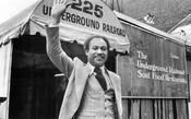 Restauranteur Howard Matthews at the Underground Railroad Restaurant, King Street, 1978.
