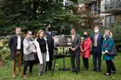 Phillips Garment Co. Fire Commemorative plaque unveiling, 2021.