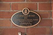 25 Spadina Road
